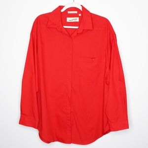Diane Von Furstenberg | VINTAGE | Red Long Sleeve